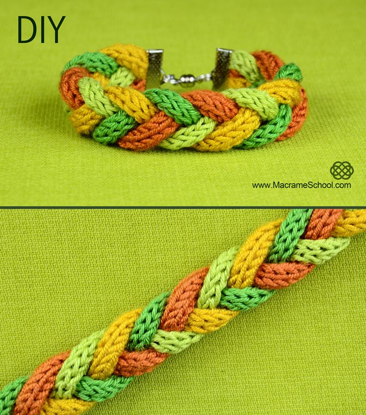 Warm and soft bracelet for winter season :) easy to make. See more: http://youtu.be/Hi45Ji6FmlM