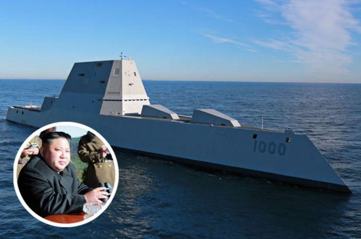 North Korea faces destroyer USS Zumwalt deployment in Korean Peninsula as nuke fear rises   Daily Star