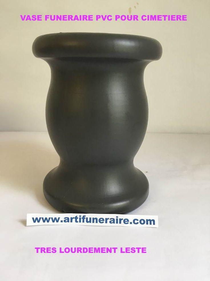 Vase funeraire PVC petit model
