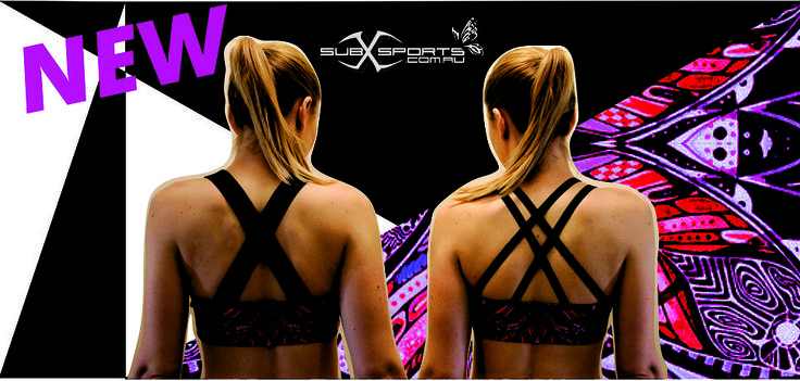 subXsports Activewear online shop.  Athletic apparel, made in Australia. Printed gym wear that is vibrant, beautiful and fun!