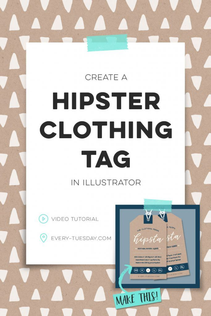 Create a Hipster Clothing Tag in Illustrator | Every-Tuesday