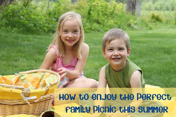 How to enjoy the perfect family picnic - ideas for fun food for the kids to make and enjoy on a picnic.