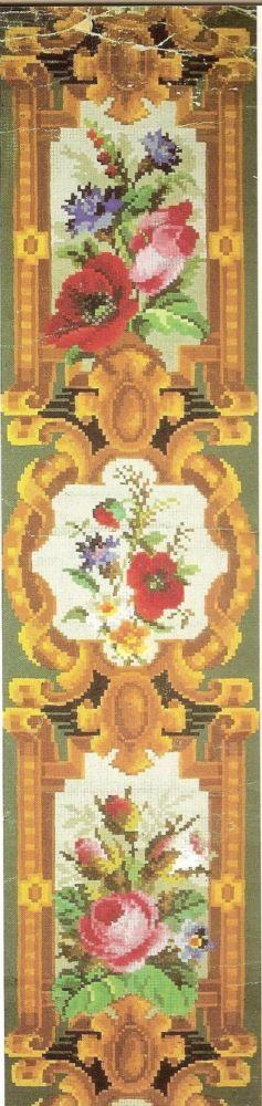 """вышивка крестом 19 века"""":"""