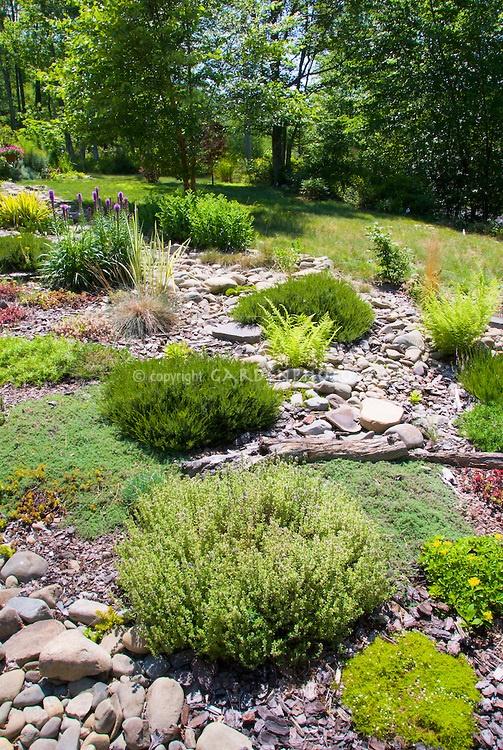 Natural, Organic looking garden.