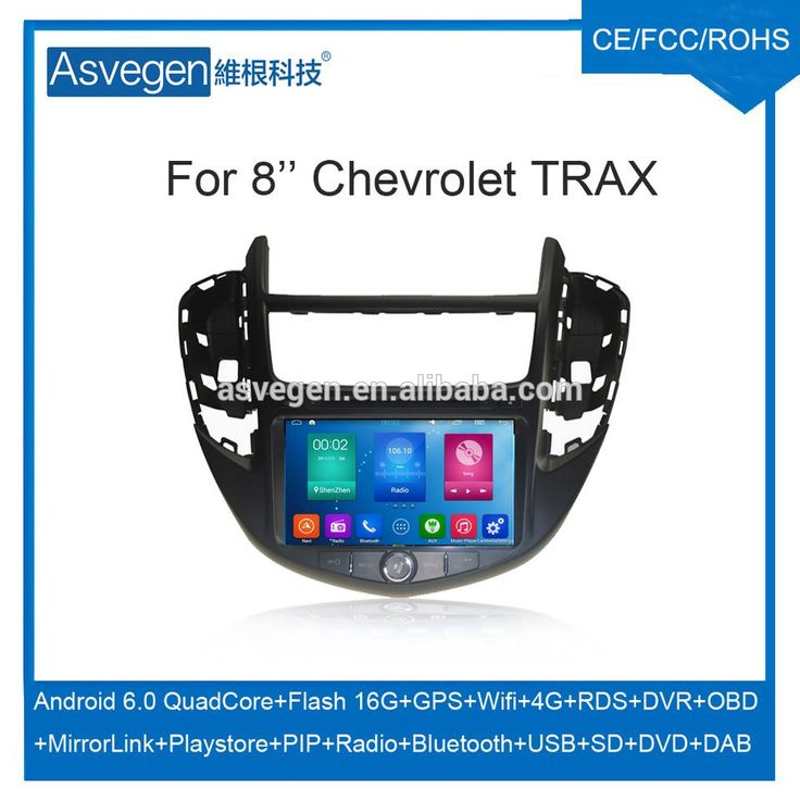 Wholesale Android Car DVD Player For 8'' Chevrolet TRAX Support Radio Wifi Playstore With Auto Spare Parts Car