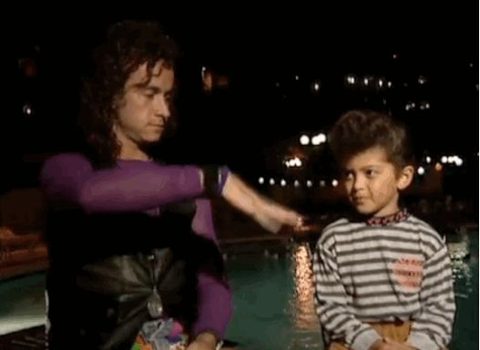 Here's Pauly Shore Interviewing Bruno Mars At 4 Years Old.