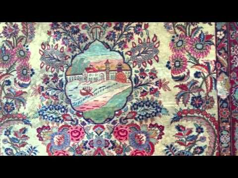 During the 20th century, period of prosperity and peace under ex-Persian Monarch, many antique handmade rugs made were the weavers reflected their weaves with the positive events taken placed across the country. Among these wonderful pieces comes this decorative antique handmade wool Persian Kashan rug with its marvellous pictorial scenes. http://www.imperialrugs.co.uk/vintage-handmade-carpets/decorative-antique-handmade-wool-persian-kashan-rug-473-91-991.php