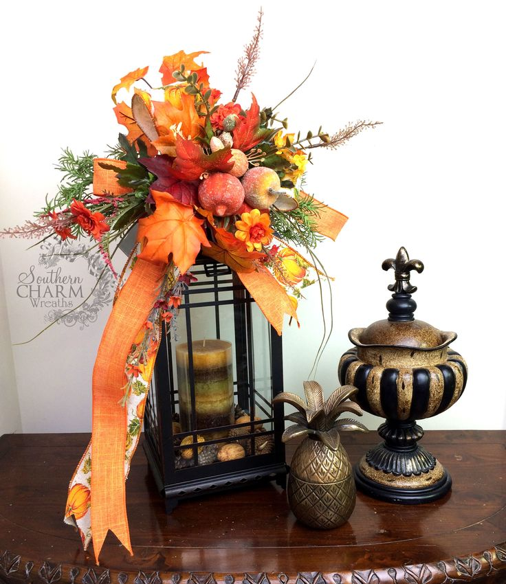 Decorating Ideas > 1000+ Images About Crafts  Lantern & Mailbox Swags And  ~ 072643_Thanksgiving Lantern Decorations