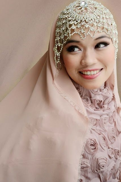 Bridal Hijabs for the Trendy Bride | Arabia Weddings
