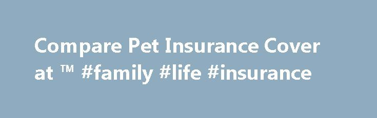 Compare Pet Insurance Cover at ™ #family #life #insurance http://insurance.remmont.com/compare-pet-insurance-cover-at-family-life-insurance/  #compare pet insurance # Pet insurance Compare cheap pet insurance quotes so your furry or feathered friend has the right cover Struggling to understand pet insurance? See if you could save money and time by comparing multiple pet insurance brands with one quick and easy search. Need more information? Tell us your pet's breed, age, gender, medical…