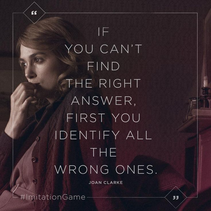 160 best cinema quotes images on pinterest film quotes movie the imitation game on stopboris Images
