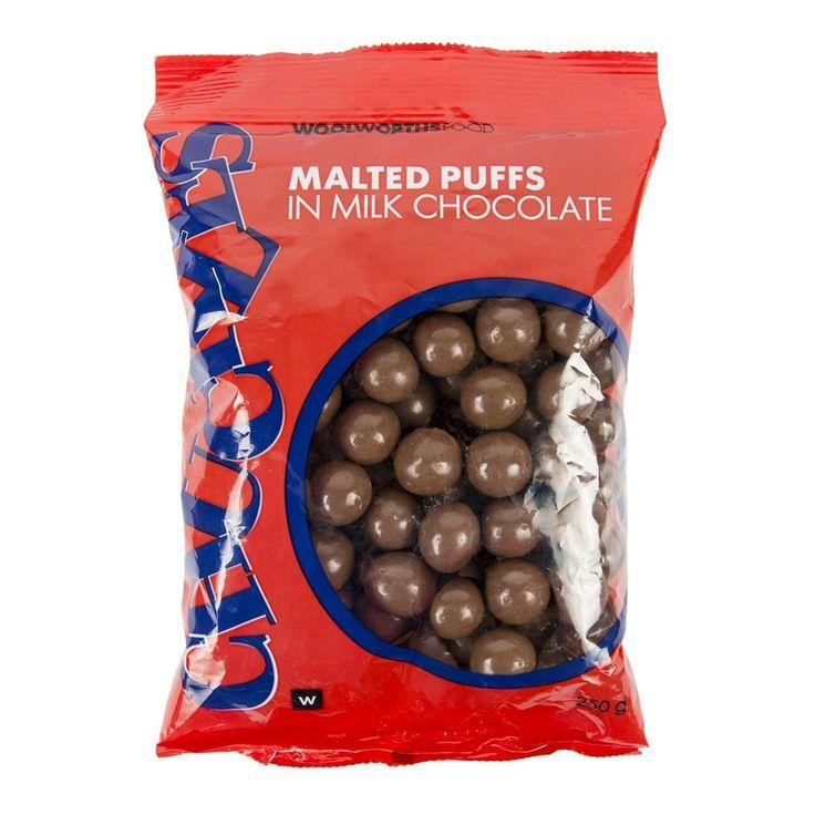 Bulk Chuckles Malted Puffs 250g