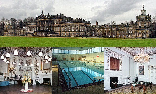 Wentworth Woodhouse, near Rotherham in South Yorkshire, makes Downton Abbey look like a two-up, two-down, says ROBERT HARDMAN.