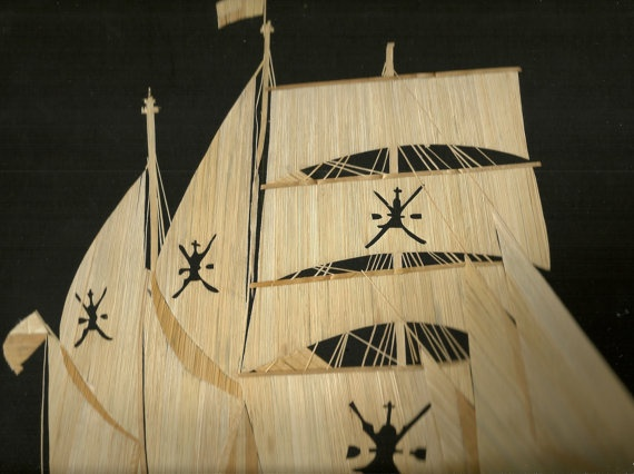 Oman  Sail ship of Sultanate of OMAN  Handmade with leaves by museumshop, $250.00  Collectible art.Kool Things, Art Handmade, 16X20 Inch, Ancient Leaf, Amazing Artworks, 250 00 Collection, Leaf Art, Oman Sailing Ships, Collection Art
