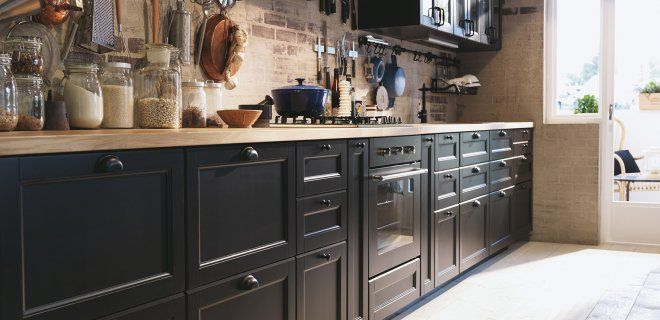 Ikea Badkamer Idee ~ Nieuwe zwarte IKEA keuken met Metod keukensystemen #keukens #ikea #
