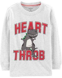 25f3f9656 Heart Throb Dinosaur Jersey Tee | Mama | Toddler boys, Graphic tees ...