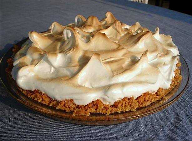 Fast Microwave Lemon Meringue Pie Recipe - Make the Lemon Pie filling in the MICROWAVE instead of a double boiler on the stove - MUCH faster and just as good!
