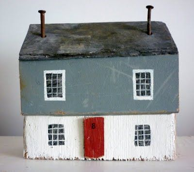 : Toys Dollhouses, Driftwood Houses, Cornwall Artists, Home Accessories, Sixty, Lil Houses, Little Wooden Houses, Card, Toys Houses
