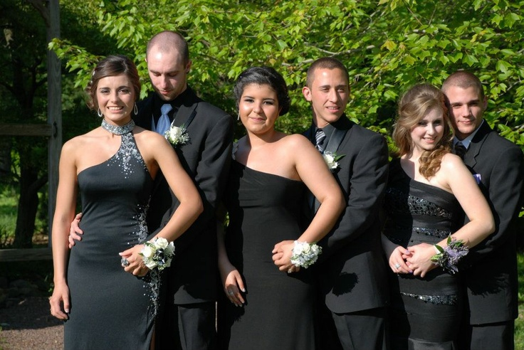 Amy Cabrera shares her pictures from Boyertown's Prom. Pictures from left, Amanda Bancroft, Aaron Fisher, Falak Mdahi, Sean Creevey, Kristina Wagers and Cody Green.