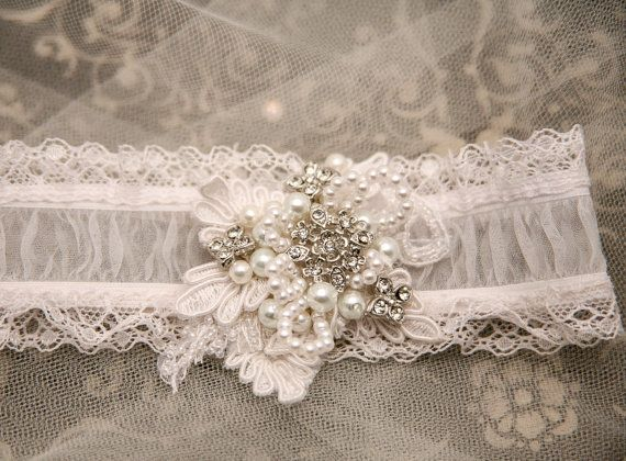 Hey, I found this really awesome Etsy listing at https://www.etsy.com/listing/114537777/shear-wedding-garter-with-lace-pearls
