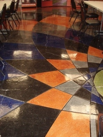 44 best images about staining concrete on pinterest for How to degrease concrete floor