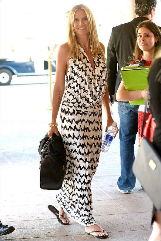 Tart Collections Mae Maxi Dress as seen on Heidi Klum $176