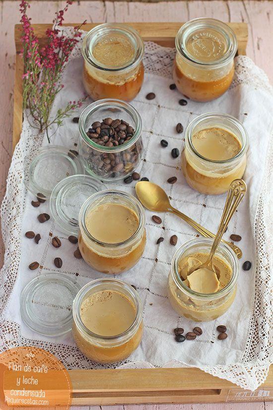 Flan de café y leche condensada, ¡delicioso!   PequeRecetas   Bloglovin'