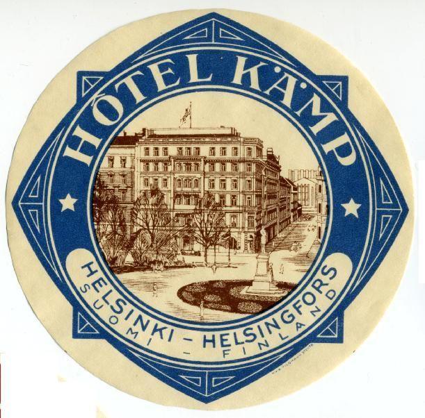 Hotel Kämp, Helsinki.