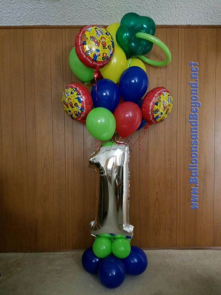 Another unique FirstBirthday BalloonBouquetDelivery by