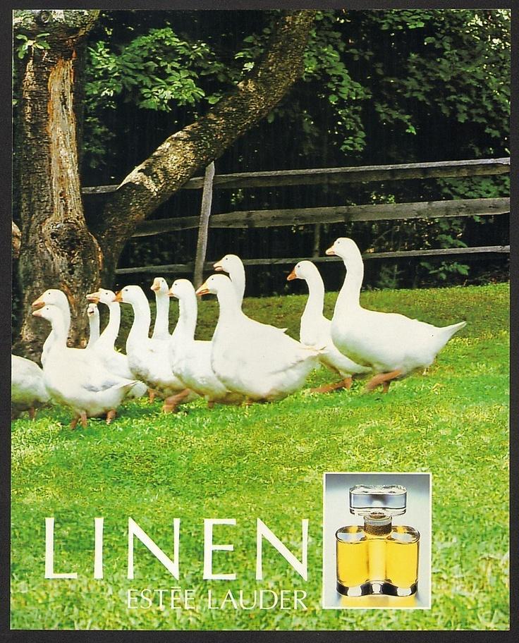 "1993 Estee Lauder ""White Linen"" Parfum 2 Pages Print Ad Paulina Porizkova | eBay"