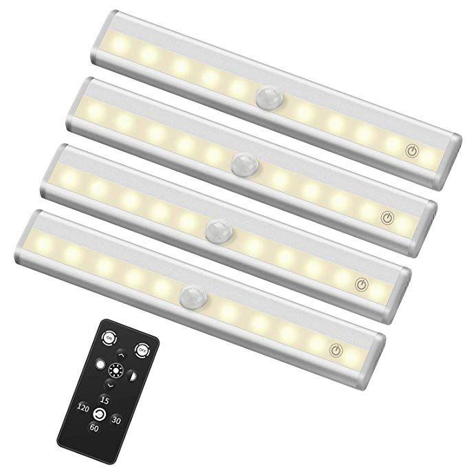 Szokled Remote Control Led Lights Bar Wireless Portable Led Under Cabinet Lighting Dim Led Cabinet Lighting Led Under Cabinet Lighting Under Cabinet Lighting