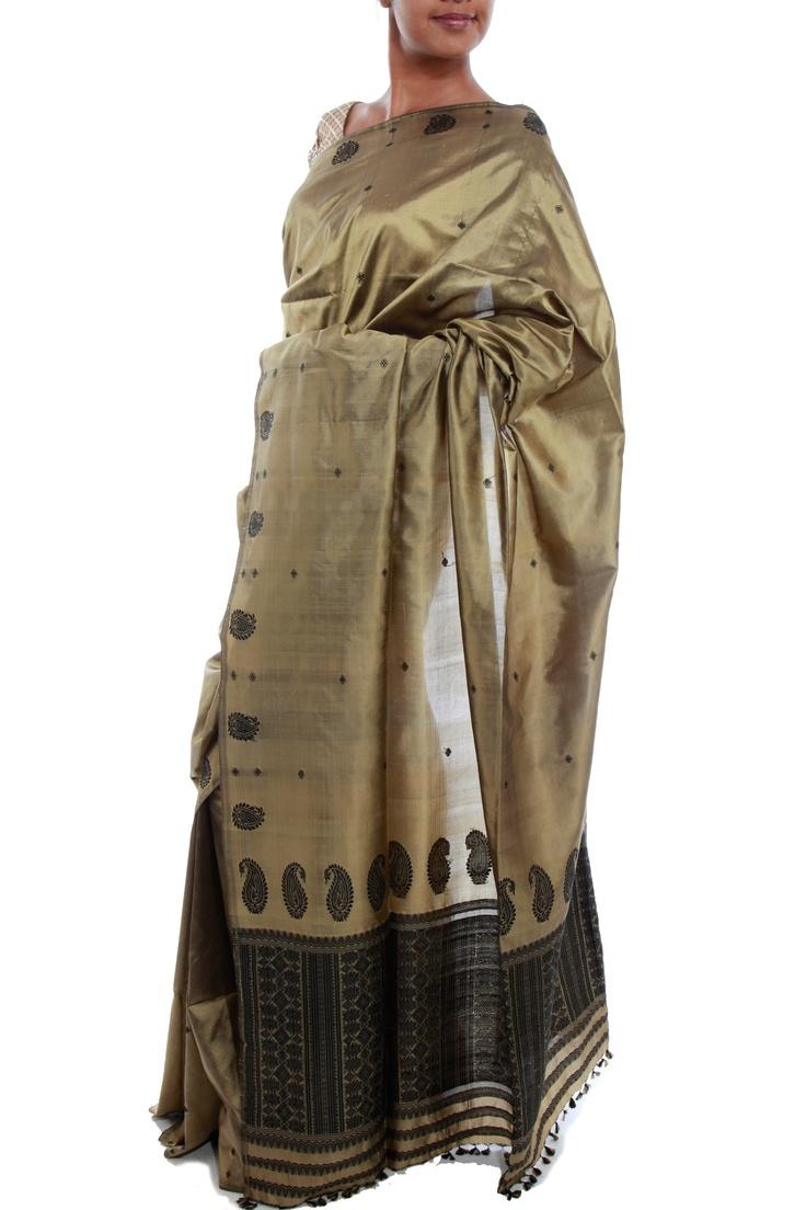 Assam Silk Saree by Julie Kagti