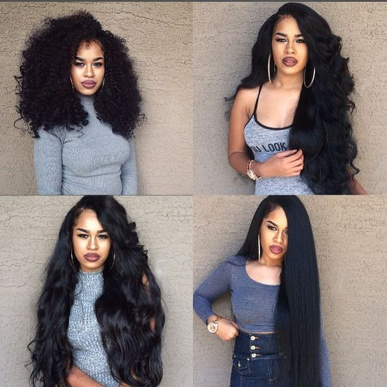 "Mike & Mary® Top Grade 7A Brazilian Hair 3 Bundles 22"" 22"" 22"" 300g Unprocessed Virgin Brazilian Wavy Hair Weave  …"