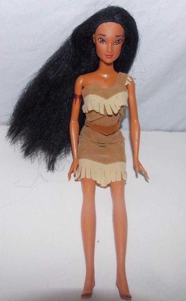 die besten 25 pocahontas barbie ideen auf pinterest disney barbie schminken wie eine barbie. Black Bedroom Furniture Sets. Home Design Ideas