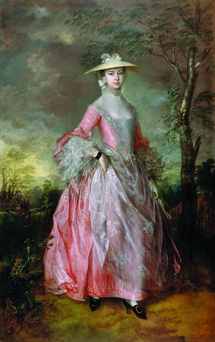 Mary, Countess of Howe | Thomas Gainsborough, c. 1764