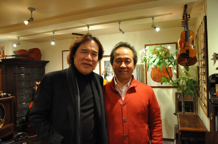 徳永二男先生と三浦章宏先生