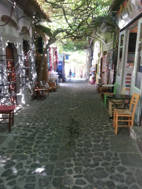 Molyvos Lesvos. The streets of Molyvos. I cannot wait to revisit!