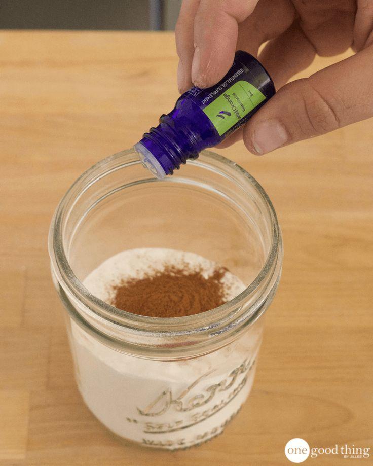 How To Make A Cheap & Natural Deodorizing Carpet Powder - One Good Thing by JilleePinterestFacebookPinterestFacebookPrintFriendly