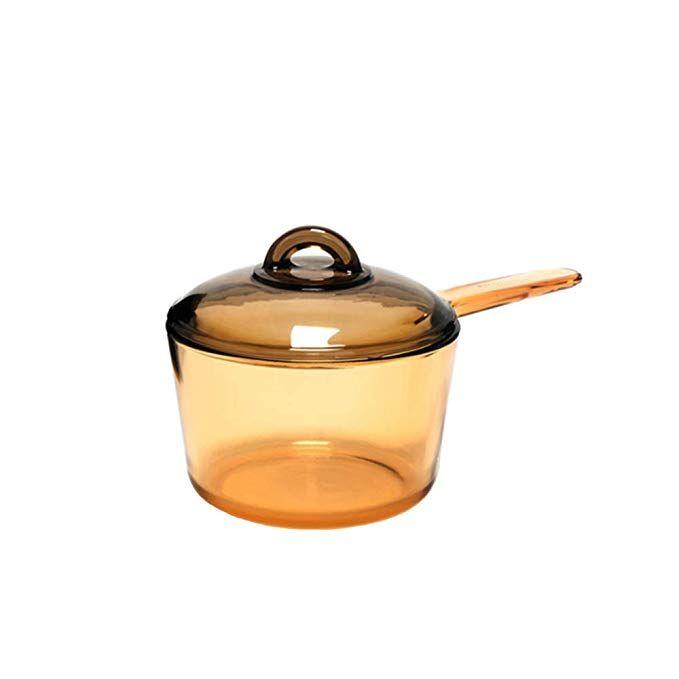 Luminarc Amberline Blooming Heat Resistant Glass Cooking Saucepan Pot Deep Style 1 5l Slight Imperfection On Heat Resistant Glass Food Odor Ceramic Materials