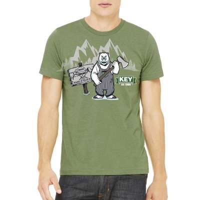 Working Person's Store 2016 Key Shirt Look at this Working Person's Store 2016 Key Shirt closely - you can see that even the feisty polar bear is sporting Key workwear! You should, too. Key, which was established in 1098, knows a thing or two about high quality workwear. Even the polar bears know it!