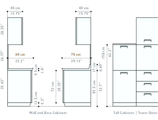 Fresh Standard Kitchen Wall Cabinet Sizes Chart Kitchen Cabinet Dimensions Kitchen Cabinets Height Cabinet Dimensions