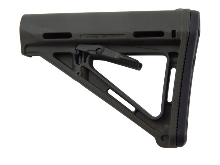 Magpul AR-15 MOE Stock - Wisconsin Trigger Company  $36.95    Manufactured by Magpull Industries  Available in 3 Colors: ODG, FDE, BLK  Mil-Spec Tube for AR-15