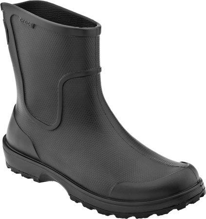Crocs Work Wellie Men's Rain Boot (Black)