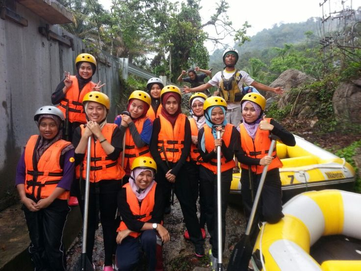 Water Rafting @ Sungai Kampar, Perak