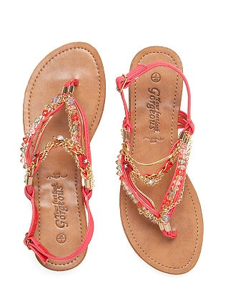 I have this new found love for cute sandals..