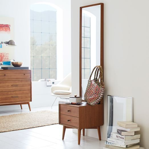 Mid-Century Storage Mirror - Acorn | West Elm -OMG, yes!-