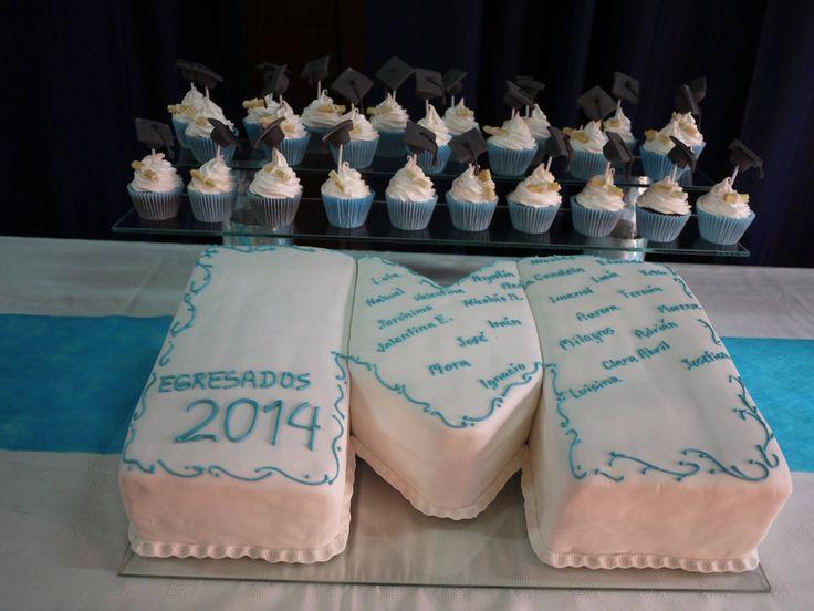 torta egresados colegio Munduna