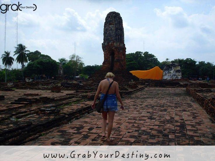 Old City of Ayutthaya - Phra Nakhon Si Ayutthaya #Ayutthaya #Thailand #JasonAndMichelleRanaldi  #GrabYourDestiny #Travel www.GrabYourDestiny.com