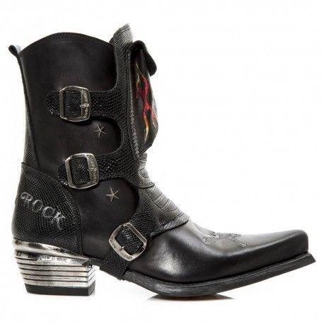 #Mens Ankle #Cowboy-Style #Boot w/ Front Pocket. http://www.tribugotica.com/en/menscowboyboots/232-botas-vaqueras-para-hombre-con-bolsillo-delantero.html?utm_campaign=crowdfire&utm_content=crowdfire&utm_medium=social&utm_source=pinterest