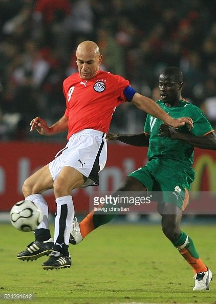 Africa Nations Cup Group A Egypt vs Ivory Coast Egypt won 31 Hossam Hassan